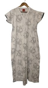 Angelina Dress Maxi White Floral Swimsuit Coverup
